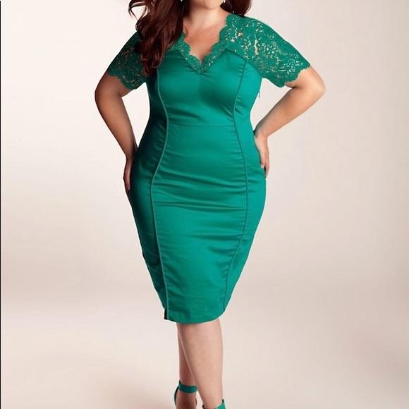 30w Igigi Mint Jade Plus Size Dress Never Worn Poshmark